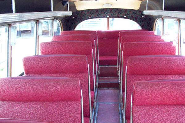 1949 Bedford 29 Seater Coach passenger seating