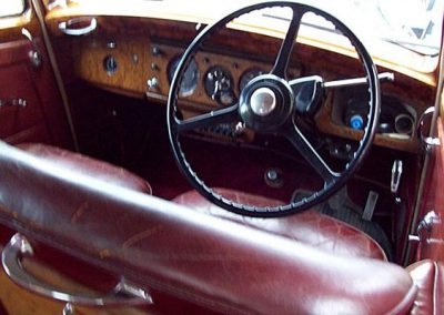 1955 Bentley R Type driver's seat