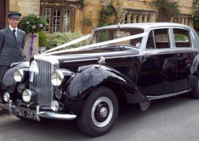1955 Bentley R Type ready for a wedding