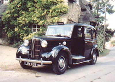 "1951 Austin London Taxi – ""Tootles"""
