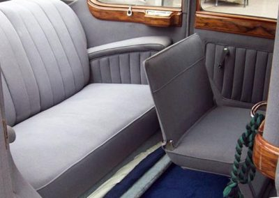 1936 Armstrong Siddeley rear seats
