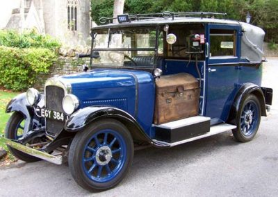 1937 London Taxi front